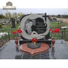 Креативный памятник 36 Лебеди — ritualum.ru