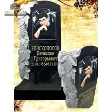 Памятник резной из гранита ЧПУ «Виноградная лоза» — ritualum.ru